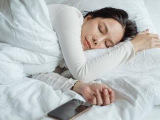 Letto persona che dorme
